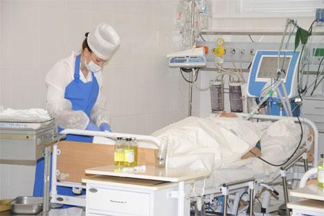 Сестринского ухода за пациентом в коме